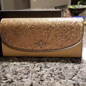 Blingy coach wallet
